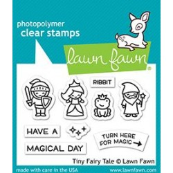 LAWN FAWN TINY FAIRY TALE CLEAR STAMPS
