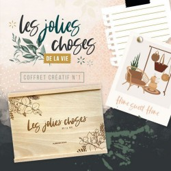 FLORILEGES DESIGN COFFRET CREATIF