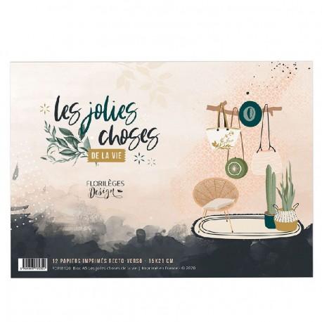 FLORILEGES DESIGN BLOC A5 LES JOLIES CHOSES DE LA VIE