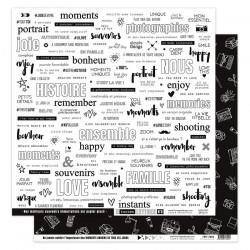 FLORILEGES DESIGN Papier Imprimé EN TOUTES LETTRES 4