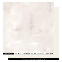 FLORILEGES DESIGN Papier uni BEIGE LIN, 30,5 x 30,5 cm