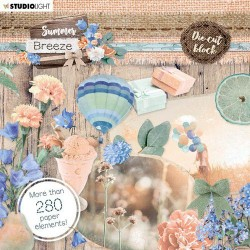 Studio Light Die Cut Book 15x15 Summer Breeze no.661