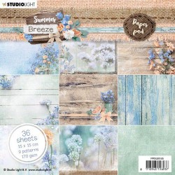 Studio Light paper Pad Summer Breeze no.145 15x15 cm