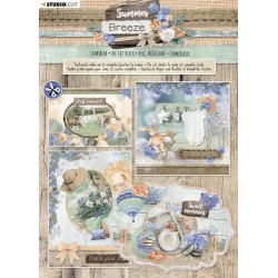 Studio Light DIE CUT Block A4, 12 sheets, SUMMER BREEZE