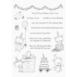 MFT SY PAWTY TIME CLEAR STAMPS