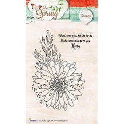 STUDIO LIGHT CLEAR STAMPS SO SPRING 284