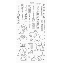 MFT BB WOOF PACK CLEAR STAMPS