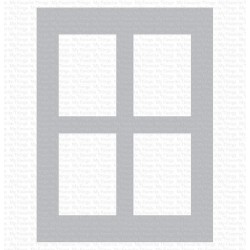 MFT MIX-ABLES WINDOW PANE STENCIL