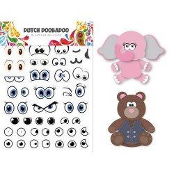 Dutch Doobadoo Card Art BUILD UP EYES STICKER ART