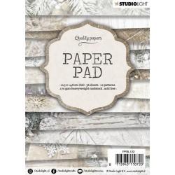 Studio Light Paper Pad A6 GRUNGE 36 sheets , 12 patterns 139