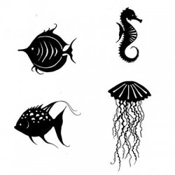 Lavinia Stamps SEA CREATURES