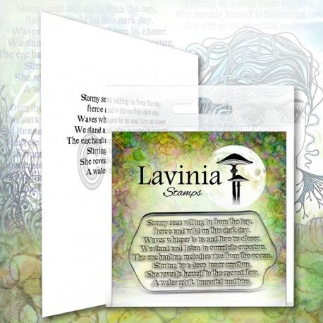 Lavinia Stamps WATER SPIRIT VERSE