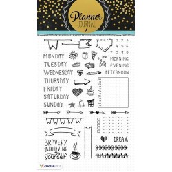 STUDIO LIGHT CLEAR STAMPS PLANNER JOURNAL 01