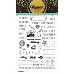 STUDIO LIGHT CLEAR STAMPS PLANNER JOURNAL 02