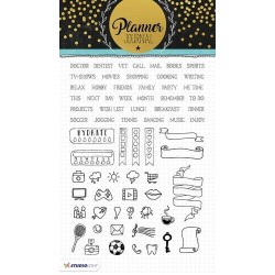 STUDIO LIGHT CLEAR STAMPS PLANNER JOURNAL 04