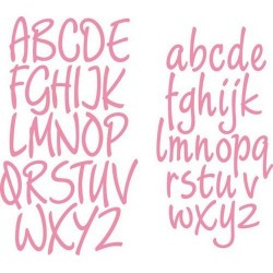 MARIANNE DESIGN COLLECTABLES CHARMING ALPHABET