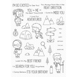 MFT ADORABLE ADVENTURES CLEAR STAMPS