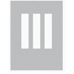 MFT MIX-ABLES RECTANGLE TRIO STENCIL