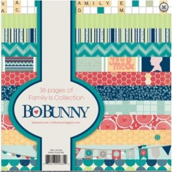 BO BUNNY FAMILY IS PAPER PAD