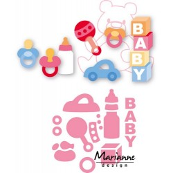 MARIANNE DESIGN COLLECTABLES ELINES BABY ESSENTIALS