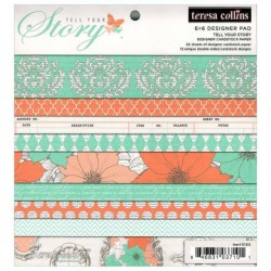 TERESA COLLINS TELL YOUR STORY PAPER PAD