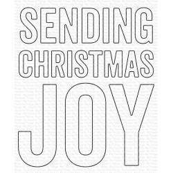 MFT DIES SENDING CHRISTMAS JOY