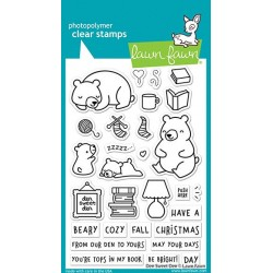 LAWN FAWN CLEAR STAMPS DEN SWEET DEN