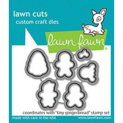 LAWN FAWN CUTS TINY GINGERBREAD