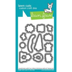 LAWN FAWN CUTS CAR CRITTERS CHRISTMAS ADD-ON