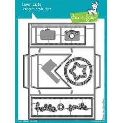 LAWN FAWN CUTS SHUTTER CARD