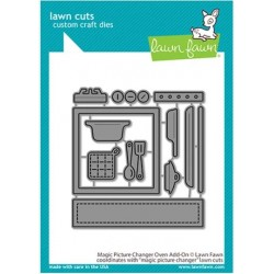 LAWN FAWN CUTS MAGIC PICTURE CHANGER OVEN ADD-ON