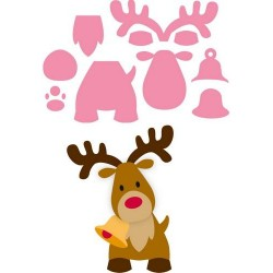 MARIANNE DESIGN COLLECTABLES ELINES REINDEER