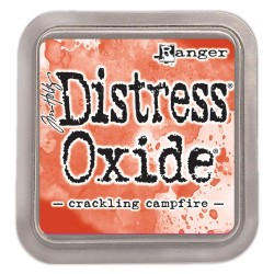 Tim Holtz distress oxide CRACKLING CAMPFIRE