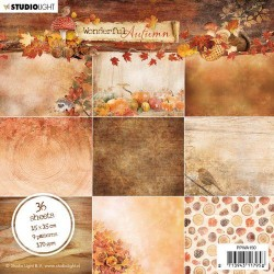 Studio Light paper Pad WONDERFUL AUTUMN No.150 15x15 cm