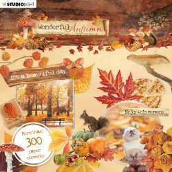 Studio Light Die Cut Book 15x15 Wonderful Autumn nr.664