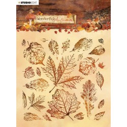 Studio Light Stamp 15x15 cm Wonderful Autumn nr. 483