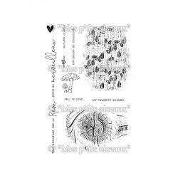 MES P'TITS CISEAUX - Sous Bois - TAMPON CLEAR Fonds Nature