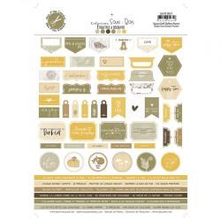 MES P'TITS CISEAUX - Sous Bois - TAMPON CLEAR Etiquettes 1