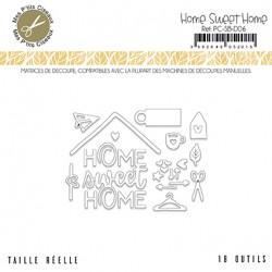 MES P'TITS CISEAUX - Sous Bois - Matrice de Découpe Home sweet Home