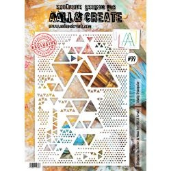 AALL AND CREATE STENCIL - 99 TRIANGLES
