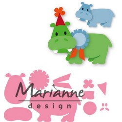 MARIANNE DESIGN COLLECTABLES HAPPY HIPPO