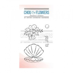 CHOU & FLOWERS TAMPONS CLEAR COQUILLE