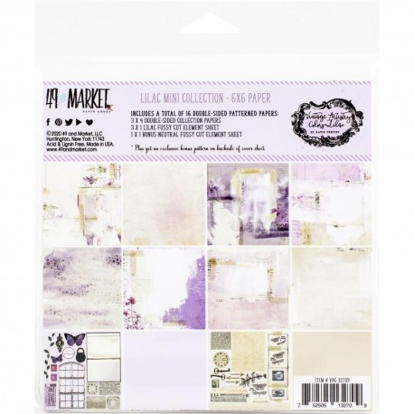 49 AND MARKET - VINTAGE ARTISTRY LILAC 15 X 15 cm