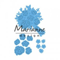 MARIANNE DESIGN CREATABLES BRIDAL BOUQUET