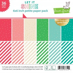 LAWN FAWN PAPER PAD LET IT SHINE