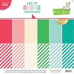 LAWN FAWN COLLECTION PACK 30.5 X 30.5 cm LET IT SHINE