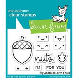 LAWN FAWN CLEAR STAMPS Big Acorn