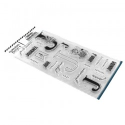 FLORILEGES DESIGN Tampon Clear LETTRE J