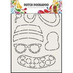 Dutch Doobadoo Card Art SUMMER CLOTHES A5