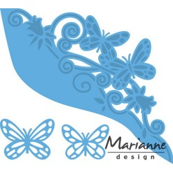 MARIANNE DESIGN CREATABLES BUTTERFLY BORDER